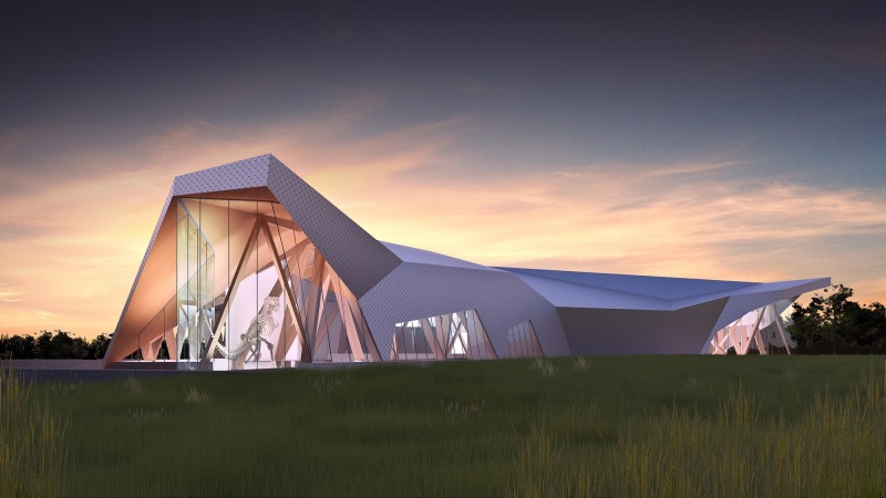 Philip J. Currie Dinosaur Museum Set to Break Ground