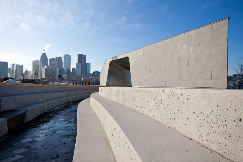Sherbourne Common Pavilion: Now open to the public