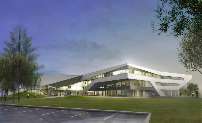 Teeple Architects at Algonquin College