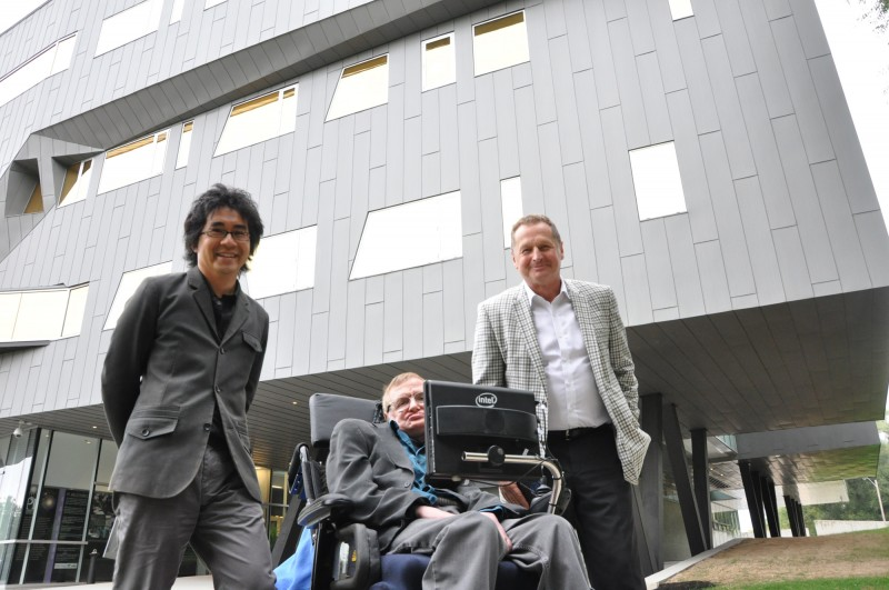 Building Tour with Stephen Hawking