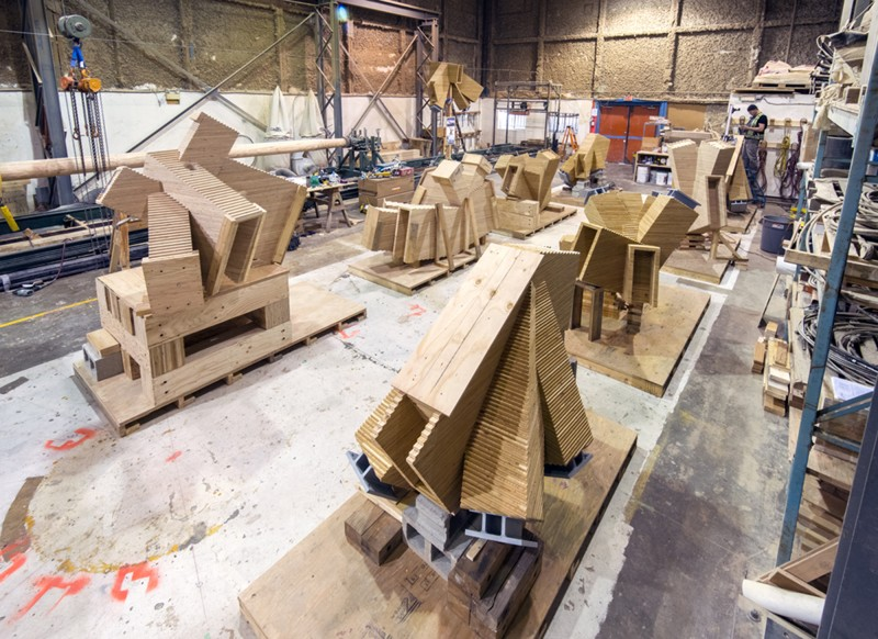 Innovative Wood Structures