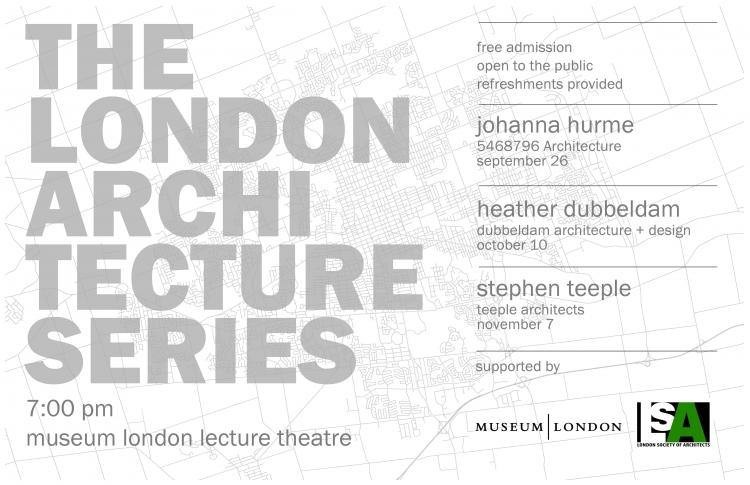 Hear Stephen Teeple speak at the London Architecture Series