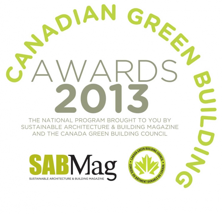 Teeple Architects win a 2013 Canadian Green Building Award