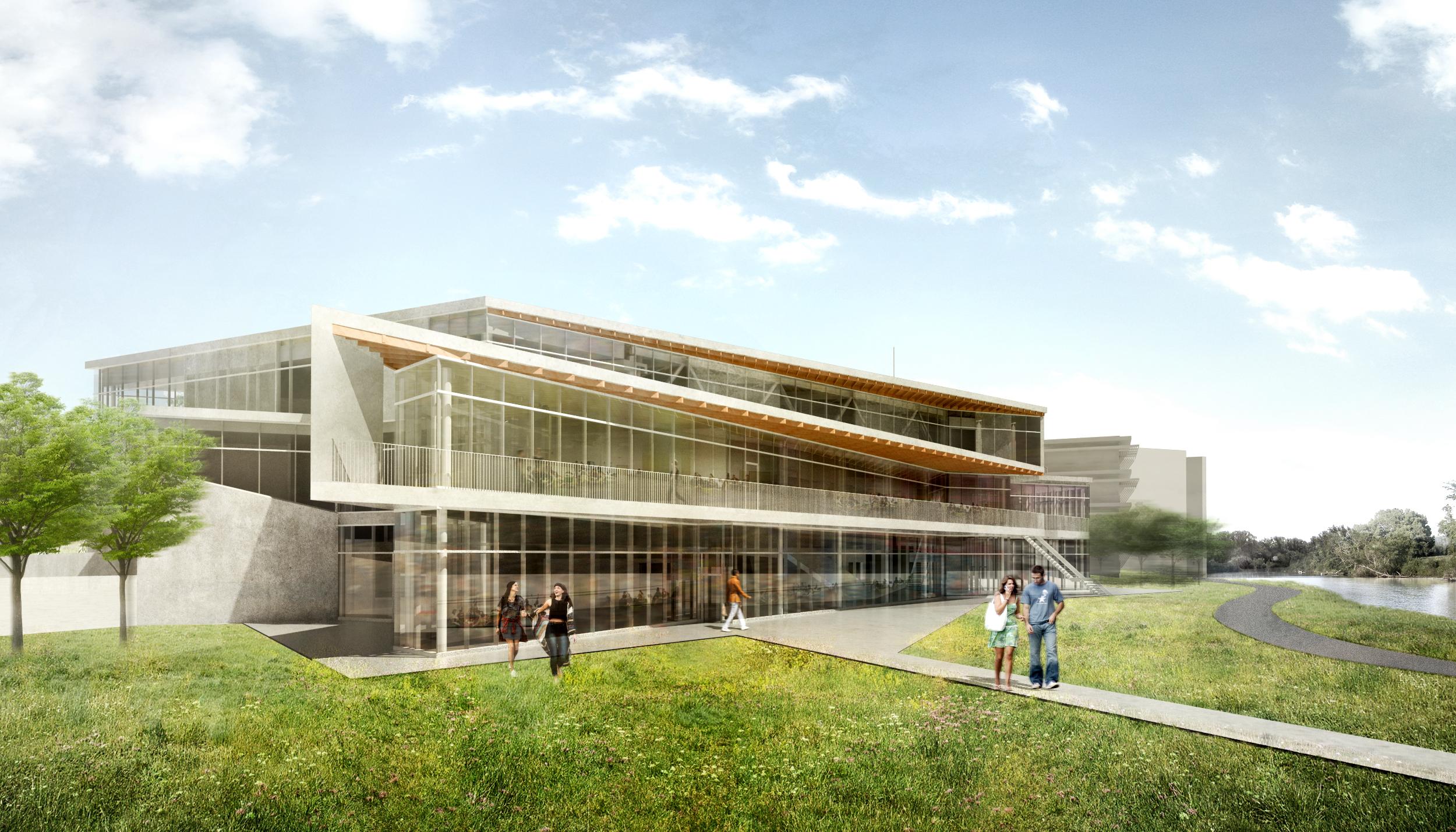 Trent University Student Centre Teeple Architects