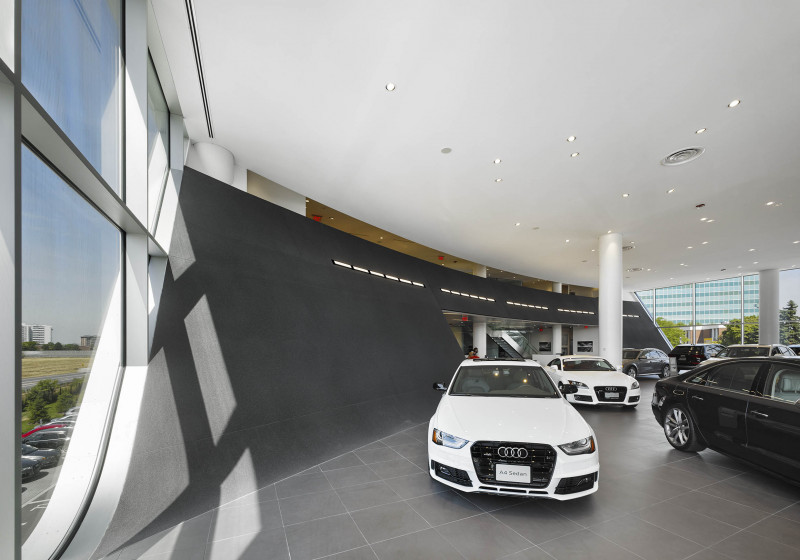 Audi Midtown Receives<br/>2016 Concrete Award for Structural Design Innovation