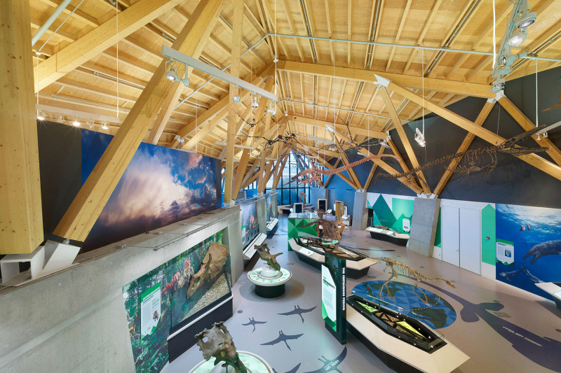 Philip J. Currie Dinosaur Museum Featured as Canadian Wood Council Case Study