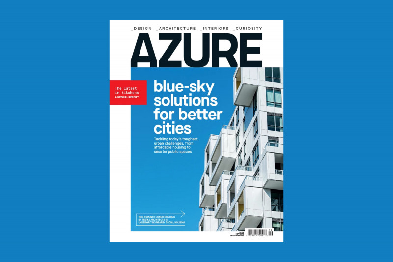 SQ1 at Alexandra Park Featured on the Cover of Azure Magazine's Urbanism Issue