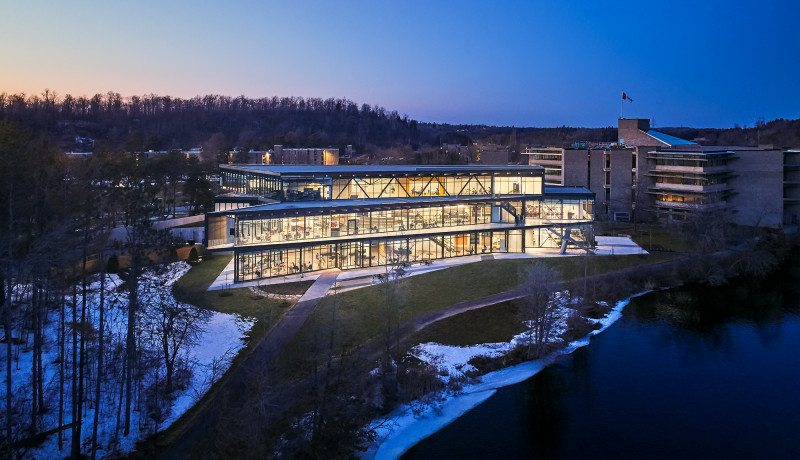 Trent University Student Centre Named a Finalist in the 2020 OAA Design Excellence Awards