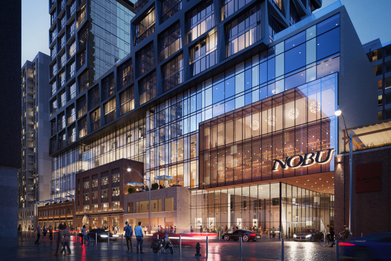 Star-Studded Ground Breaking Marks the Start of Work on Nobu Toronto