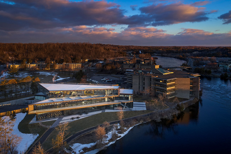Trent University Student Centre Receives OAA Design Excellence Award