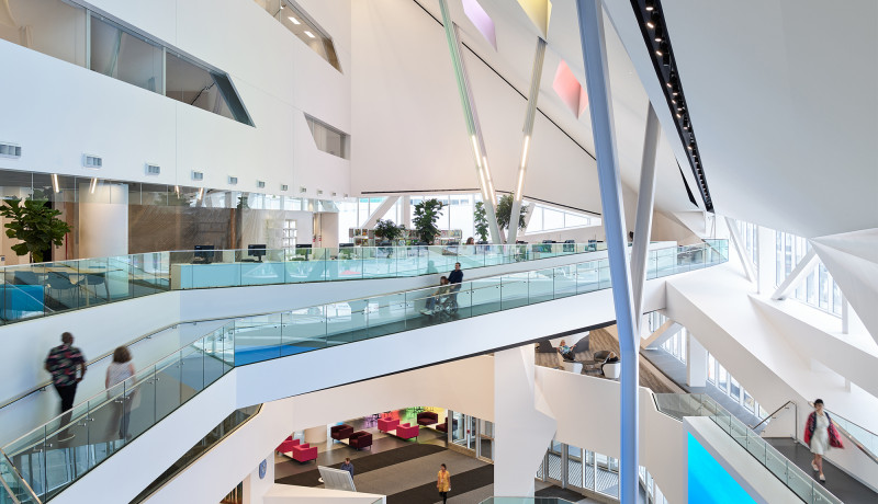 Canadian Architect Features EPL's Stanley A. Milner Library Renewal in their February Issue