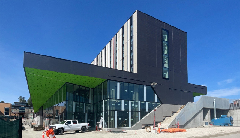 Nechako Housing Commons on UBC's Beautiful Okanagan Campus is in the Home Stretch