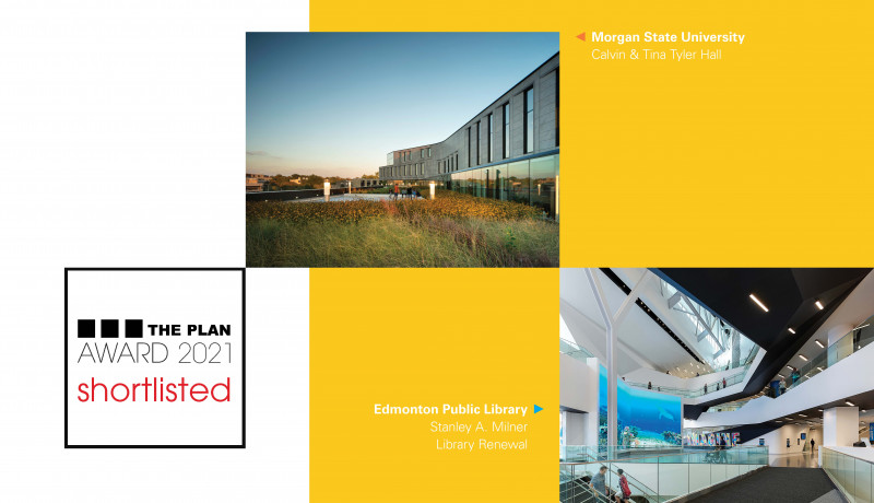 Two Teeple Projects Shortlisted in This Year's The Plan Magazine Awards Competition